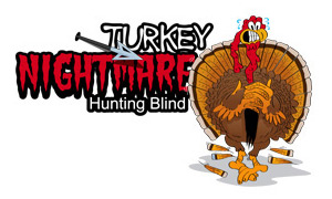 product logo for a hunting blind