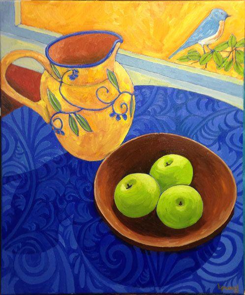 Still-Life-with-grenn-apples-and-blue-bird.jpg